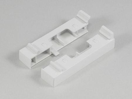 Påbyggnad Kassett UNI 19 mm typ 3 (Vä+Hö) VIT (A08)