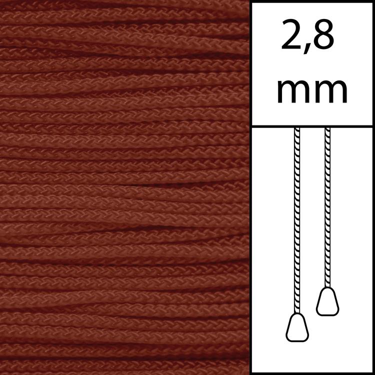 20 m / Persiennlina 2,8 mm (TC) Terracotta  (Best.vara min.20 m)