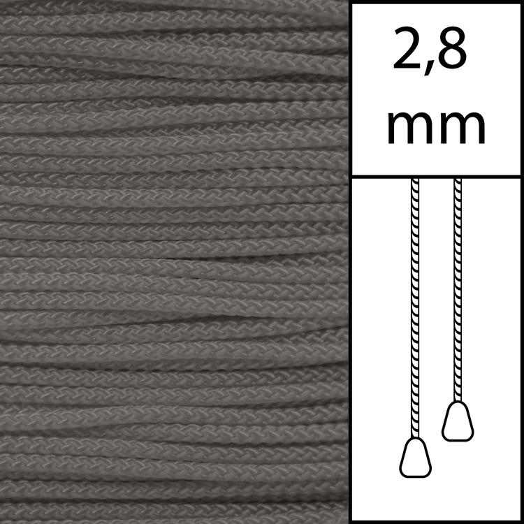 20 m / Persiennlina 2,8 mm (MI) Mist  (best.vara min.20m)