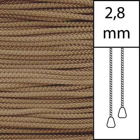 20 m / Persiennlina 2,8 mm (PI) Pine  (best.vara min.20m)