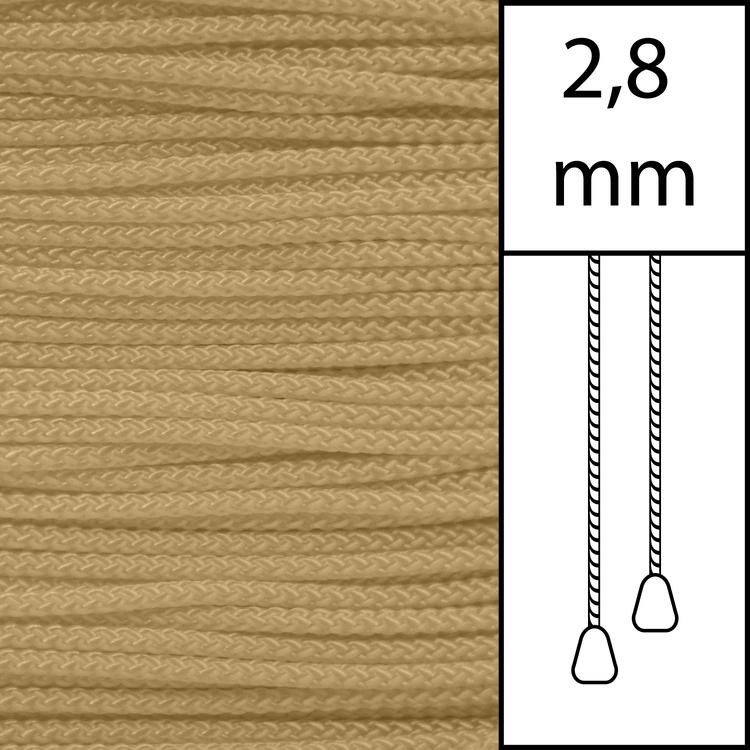 1 m / Persiennlina 2,8 mm (MC) Mocca (LAGER-VARA)