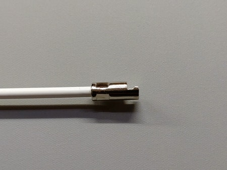 Vridstång för mellanglas persienner 50 cm - VIT  / Typ: N