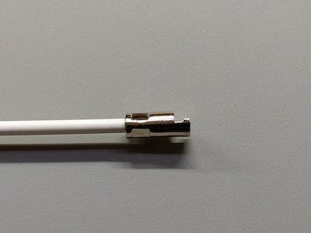 Vridstång för mellanglas persienner 25 cm - VIT  / Typ: N