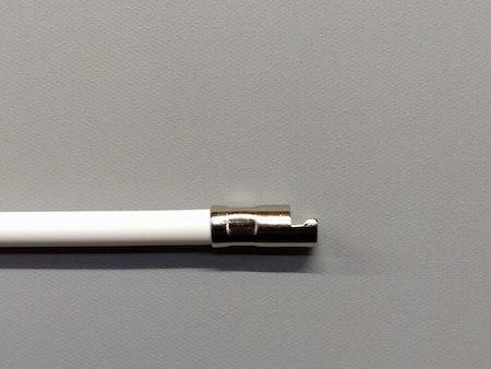 1st / Wire med skruv för mellanglas persienn VIT 19 cm Typ: N (M35)