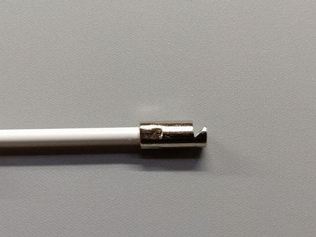Kopia Vridstång för mellanglas persienner 17 cm - VIT  / Typ: O