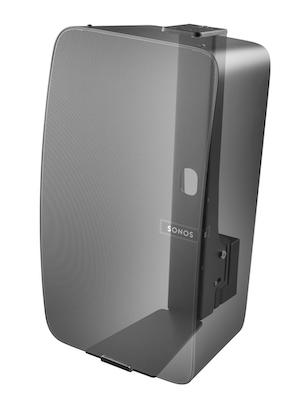 Väggfäste för Sonos Play:5 MKII Svart Vertikal