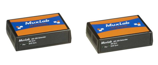Muxlab 3G-SDI förlängningskit, 100m