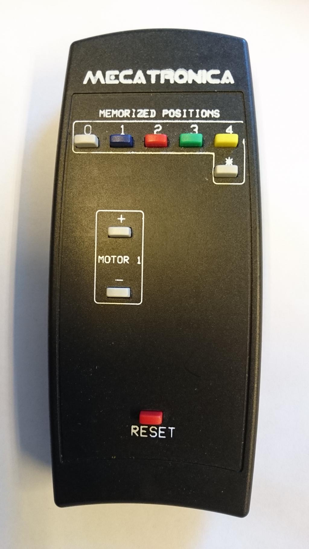 HDconnect Fjärrkontroll motoriserat takfäste 9 knappar