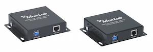 HDMI över IP nätverk KIT, PoE, 100 meter