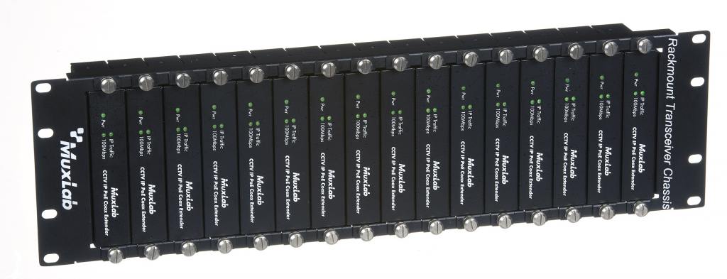 Muxlab Ram för transceivers, 16 port, 3U