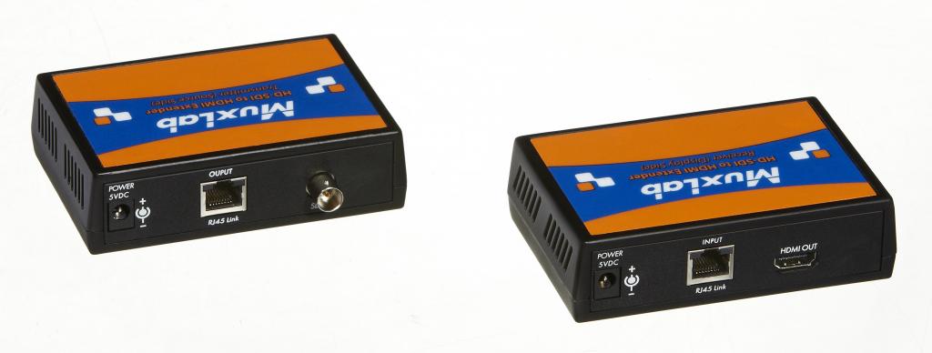 Muxlab LongReach 3G-SDI till HDMI förlängningskit