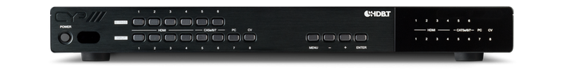 CYP/// Presentations switch med bl.a HDBaseT, HDMI & VGA