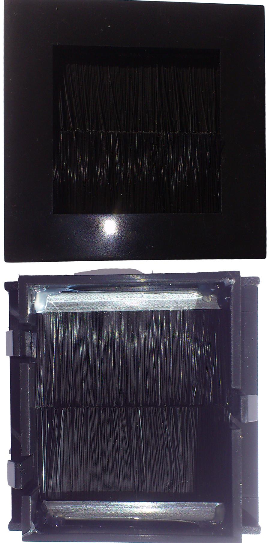 Digitaltvexperten Universal modul med borste svart liten