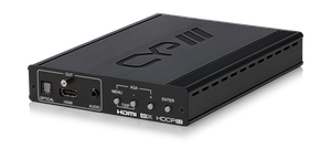 PC/HDMI till HDMI Scaler, 4K, Audio deembedd