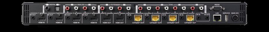 CYP/// HDBaseT Matris, Audio Matris, 4K, HDCP2.2, 100 m