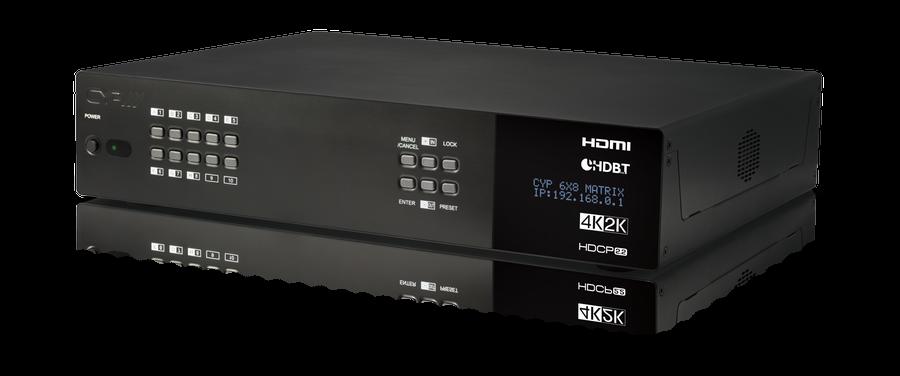 CYP/// HDBaseT LITE Matris, Audio, 4K, HDCP2.2, 60 m