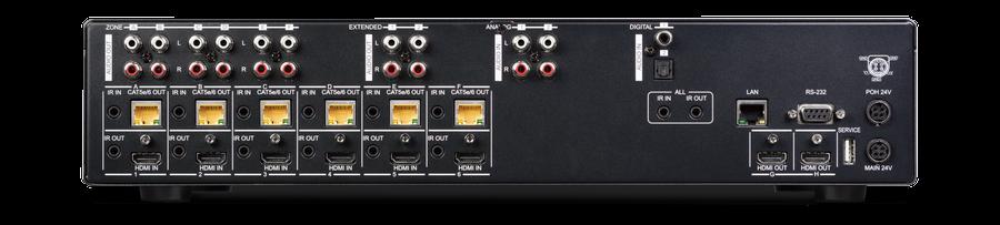 CYP/// Matrisväxel, LAN, Audio, 4K, HDCP2.2, 100 m