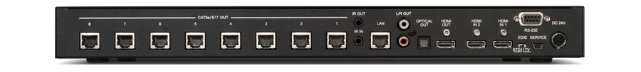 CYP/// HDBaseT Switch med separat ljud.