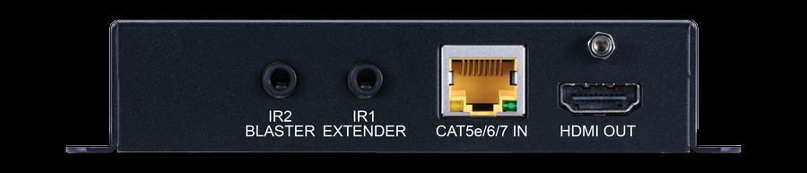 CYP/// HDBaseT Lite mottagare, 4K, HDR, PoH, AVLC