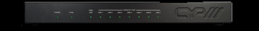 CYP/// 1:7 HDMI till HDBaseT Splitter(100m)