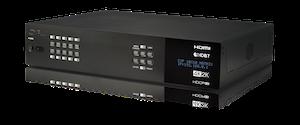 HDMI - HDBaseT Lite matris 10x8+2 med separat audio matris