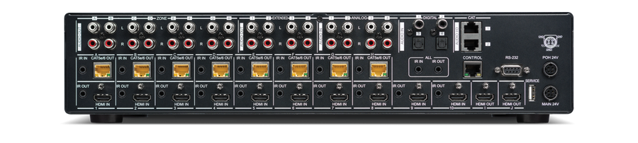 CYP/// HDMI - HDBaseT Lite matris 10x8+2 med separat audio matris