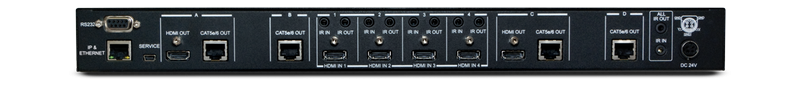 CYP/// HDMI till HDBaseT matris 4:4