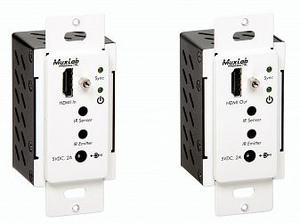 HDMI Wallplate extender kit, HDBT, Decora