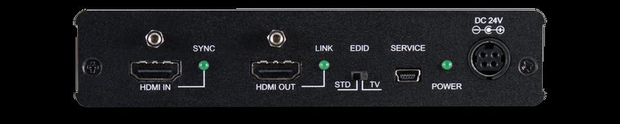CYP/// 1:3 HDMI till HDBaseT Splitter (60m) + 1 HDMI bypass