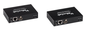 HDMI Mono Extender Mottagare med HDBT, UHD-4K och IR, 70m