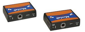 HDMI Mono Extender Kit med HDBT och UHD-4K, 100m