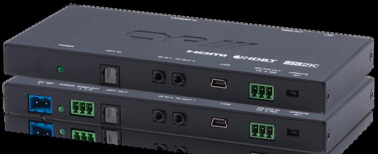 CYP/// Slimline Full HDBaseT Kit, 4K, HDCP2.2, PoH, OAR