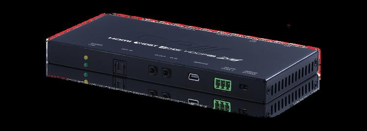 CYP/// HDBaseT mottagare, 4K@60Hz, HDR, PoH, AVLC, OAR, 100Mbit/s data