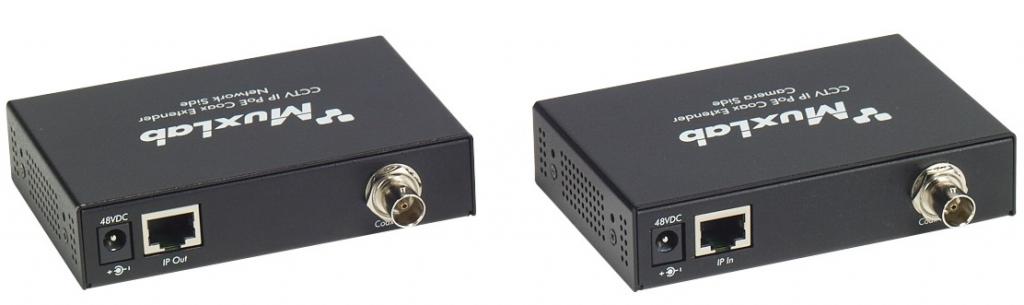 Muxlab LongReach CCTV IP PoE Extender Kit 30W