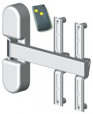 HDconnect Motorstyrt väggfäste svängbart 180° Mini upp till 28