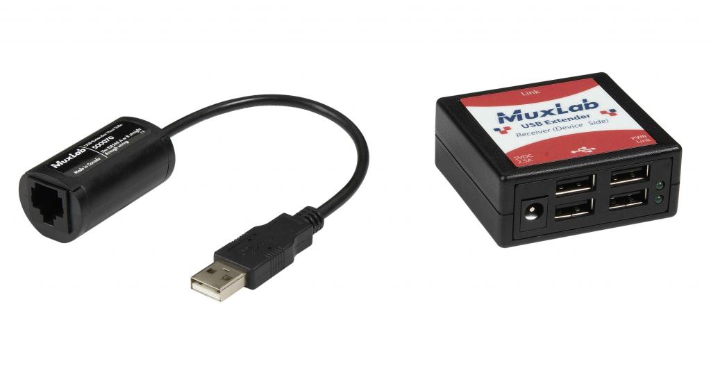 Muxlab USB 4 Portar förlängningskit