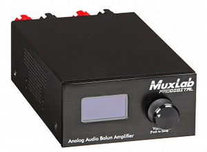 Analog Ljudbalun, förstärkare 2x30W, 1 km