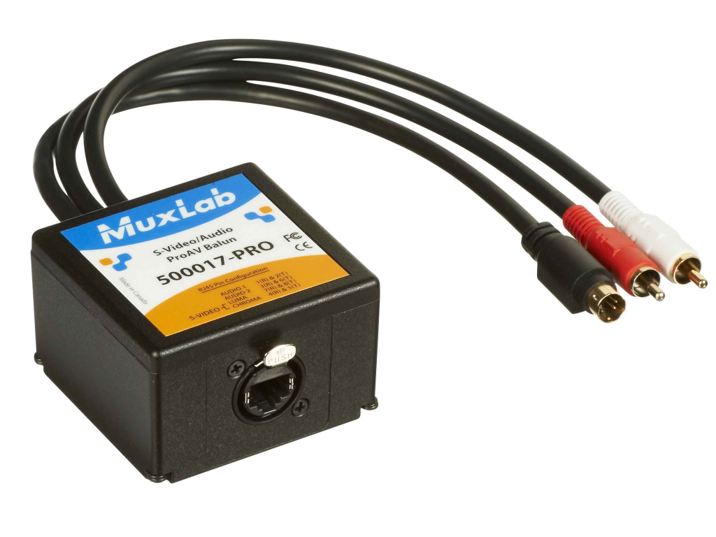 Muxlab S-Video / Audio ProAV Balun