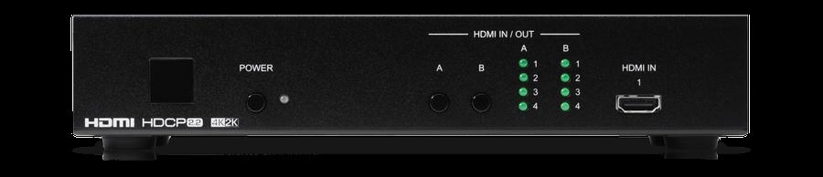 CYP/// 4x2 HDMI matris, 4K, HDCP2.2 & HDMI 2.0