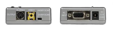 Cypress T. CPT-385A VGA till video / S-Video konverter
