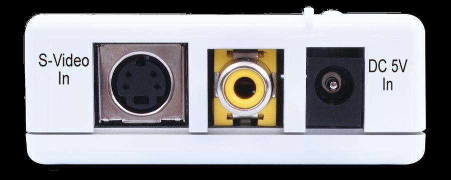 Cypress T. Kompositvideo / SVHS till VGA konverter