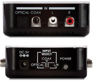 Multi-omvandlare för ljud