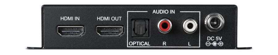 CYP/// HDMI ljud-inmatare, 4K, HDCP 2.2, HDMI 2.0