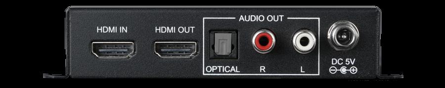 CYP/// HDMI audio de-embedder, 5.1 ljud, 4K, HDCP 2.2, HDMI 2.0