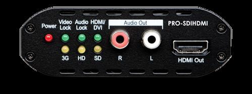 CYP/// SDI - HDMI konverter + SDI bypass