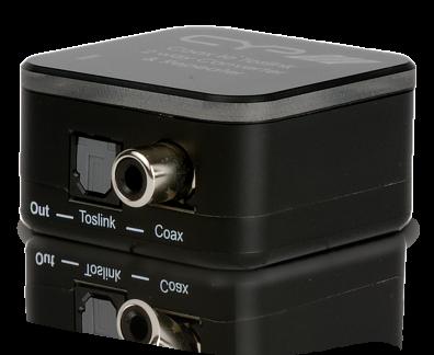 CYP/// Koax / optiskt till Koax / optiskt konverter