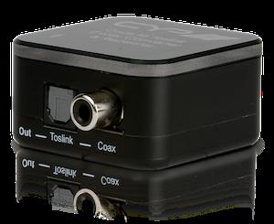 Koax / optiskt till Koax / optiskt konverter