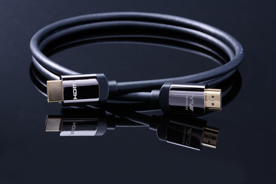 CYP/// Premium HDMI kabel 1m, 4K UHD, HDR