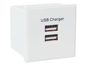 Modul USB med 2 uttag