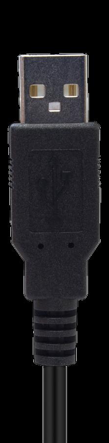 CYP/// USB El-kabel med lås mekanism till CYP 1m